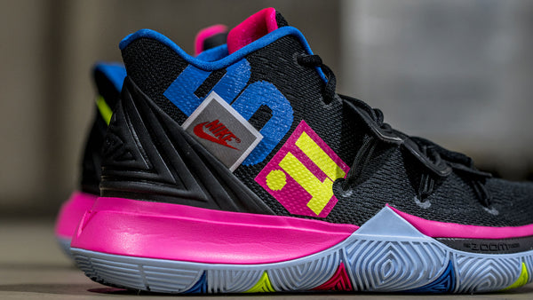 "The Kyrie 5 joins the ""Just Do It"" Movement"