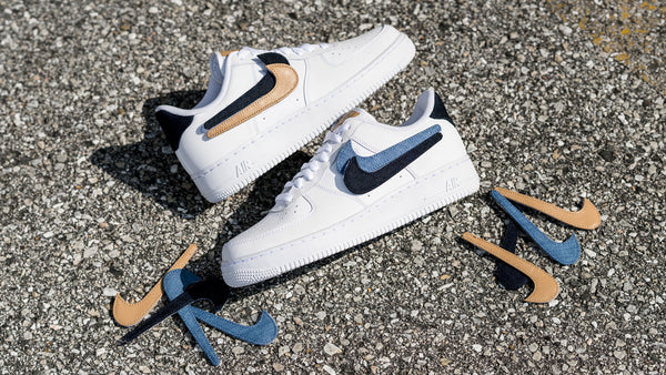 Nike Drops The Air Force 1 Removable Swoosh Pack