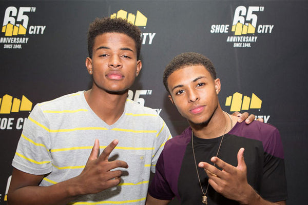 Diggy Simmons & Trevor Jackson Bowling Party