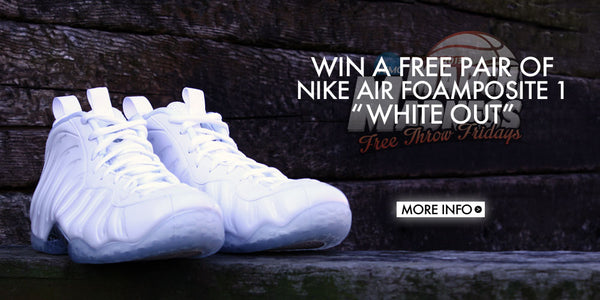 Free Throw Friday's: Win A Free Pair of Kicks