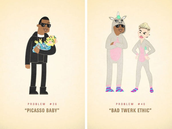 "Jay-Z's ""99 Problems"" Illustrated by Ali Graham"