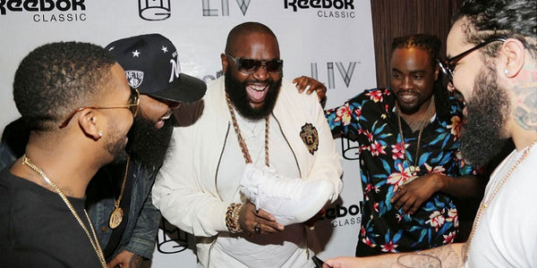 Rick Ross x Reebok Classics All White Party (LIV - Miami)