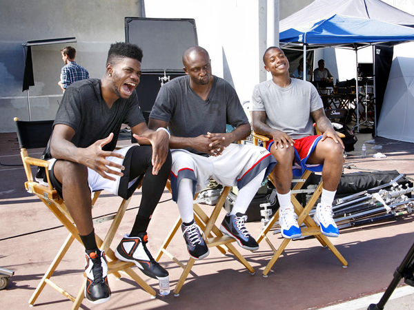 "Reebok ""Game Recognize Game"" Basketball Campaign"