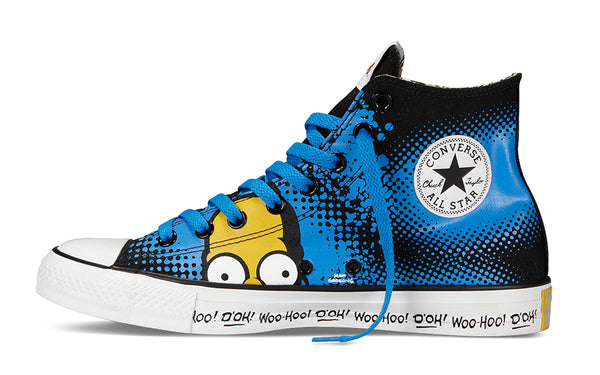 "CONVERSE LAUNCHES FIRST-EVER FOOTWEAR COLLECTION FEATURING ""THE SIMPSONS"""