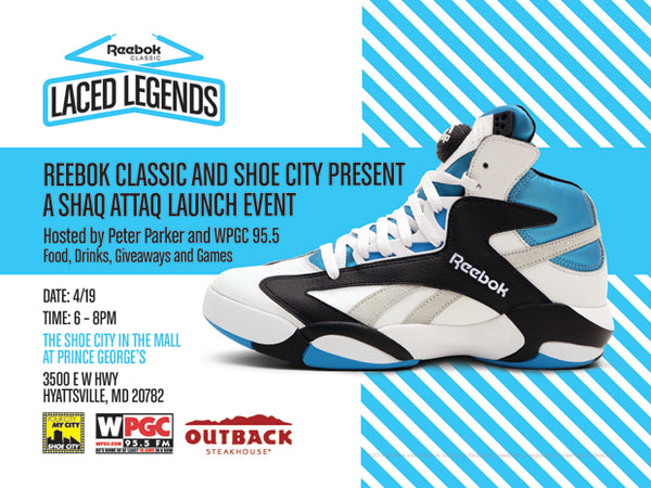 Shaq Attaq Launch Party & Store Release Info