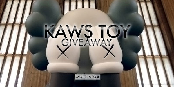 Last Chance To Enter KAWS Companion (Passing Through) Toy Giveaway