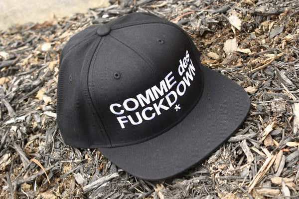 BP's Pick of the Day: COMME des FUCKDOWN Snapback