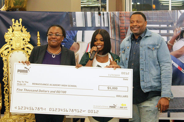 Giving Back To Baltimore Youth With Dreezy