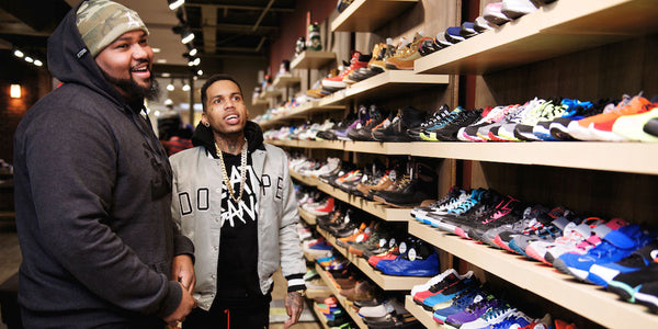 Rapper Kid Ink Stops By to Shop YCMC