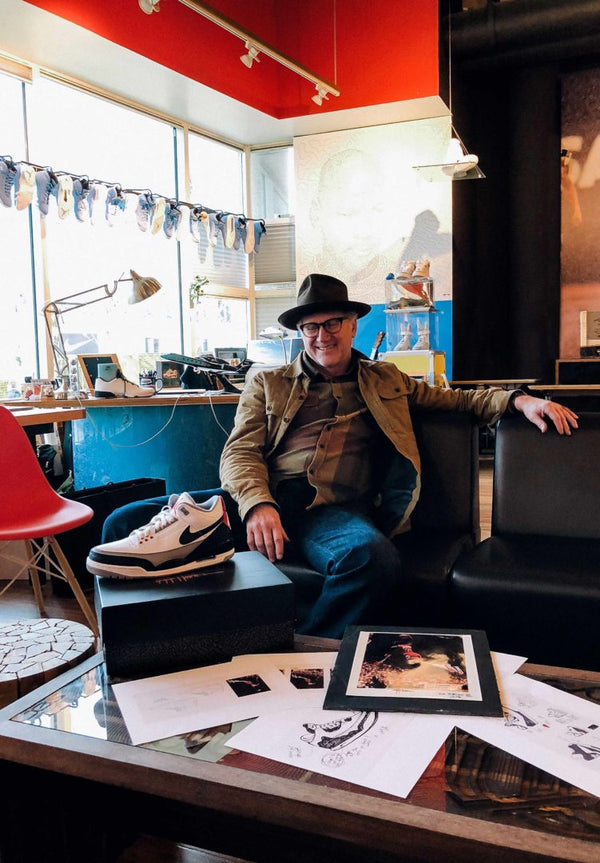 One on One With The Greatest Designer In Athletic Footwear: Tinker Hatfield