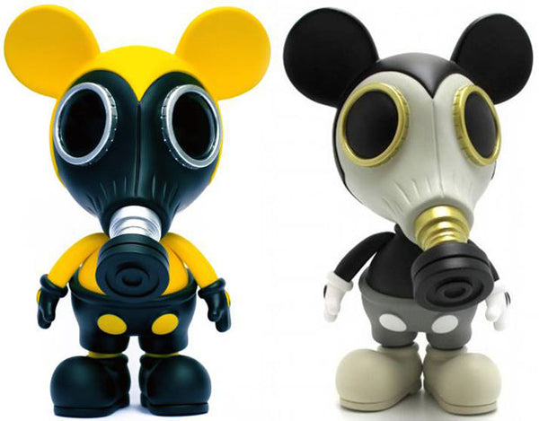 "Ron English x Made By Monsters ""Mousemask Murphy Set""‏"