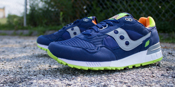 Now Available: Saucony Shadow 5000 Blue/Citron