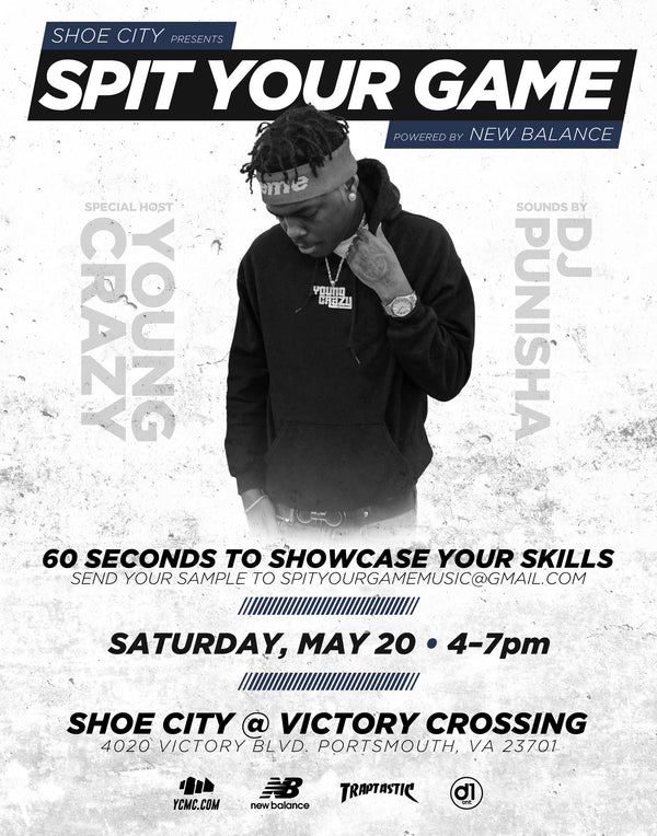 Shoe City and New Balance Presents . . . Spit Your Game