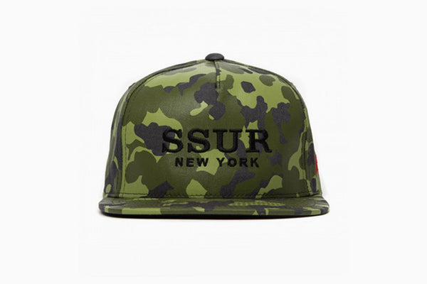 SSUR New York Camouflage Snapback Pack