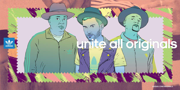 adidas Originals - Unite All Originals with Run DMC & A-Trak