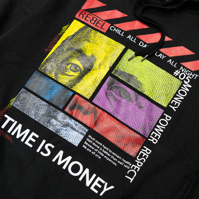 Time is $ Pullover Hoodie