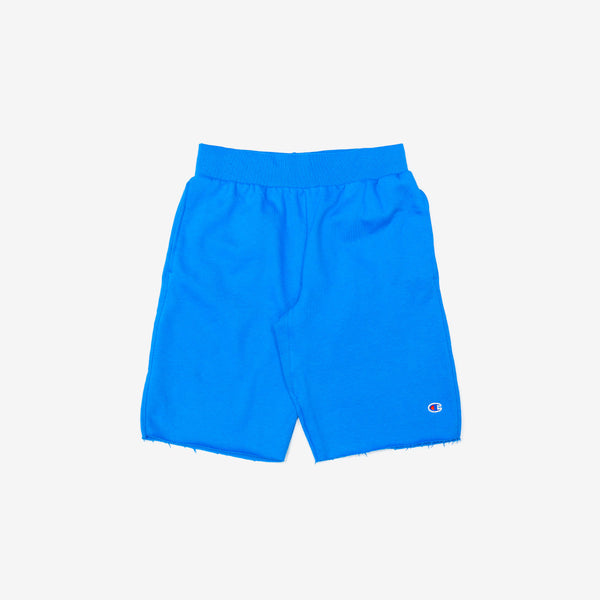 Reverse Weave Cut-Off Shorts