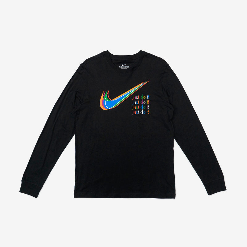 Sportswear Stacked Graphic Long Sleeve Tee