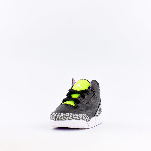 "Retro 3 SE ""Electric Green"" (Infant/Toddler)"
