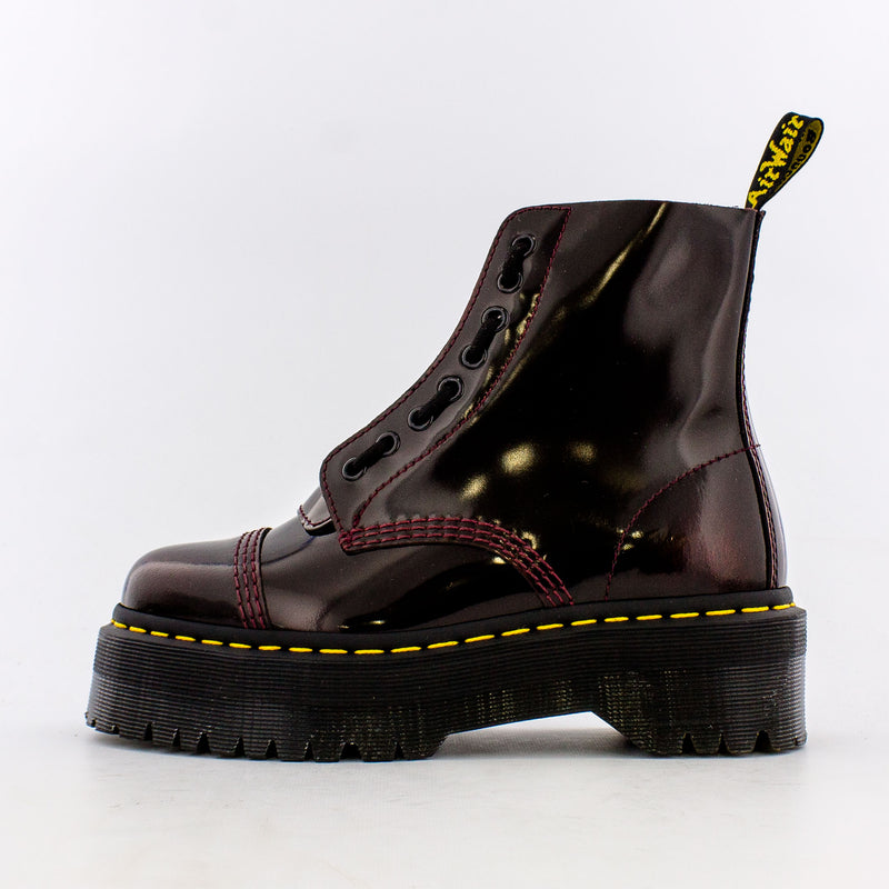 Sinclair Leather Platform Boots