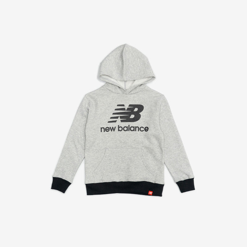 Boys Stacked Logo Fleece Hoodie
