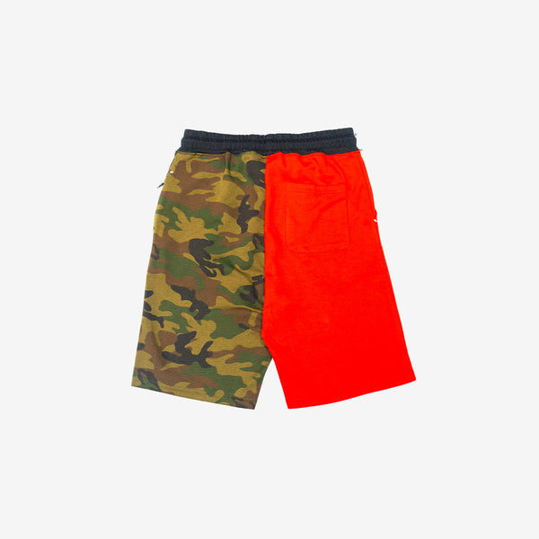 Contrast Trim Tech Fleece Shorts
