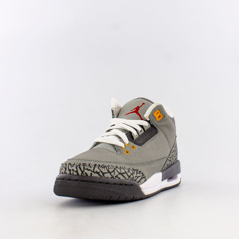 "Retro 3 ""Cool Grey"" (Big Kids)"