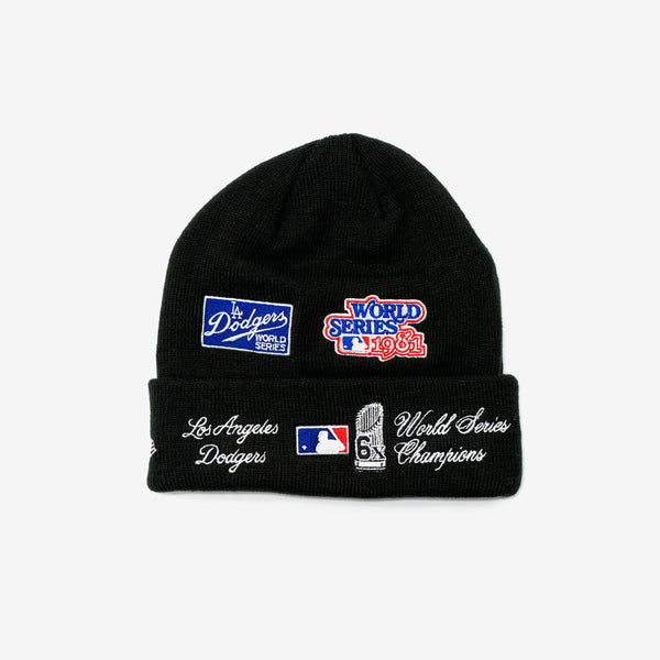 Los Angeles Dodgers World Series Knit Beanie