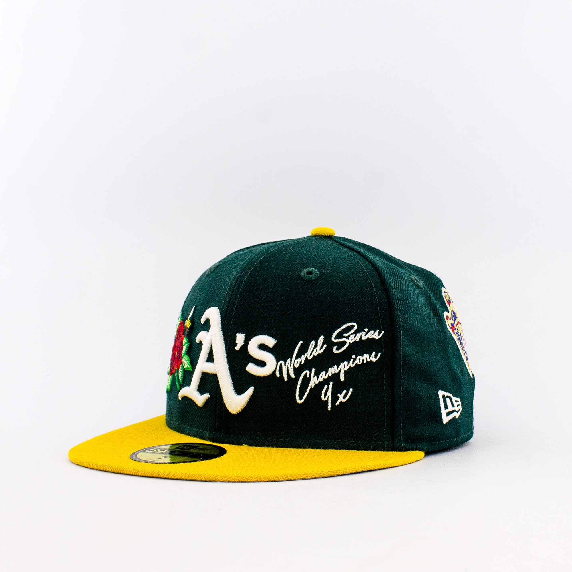 New Era MLB Oakland Athletics 59Fifty World Champions Fitted Hat