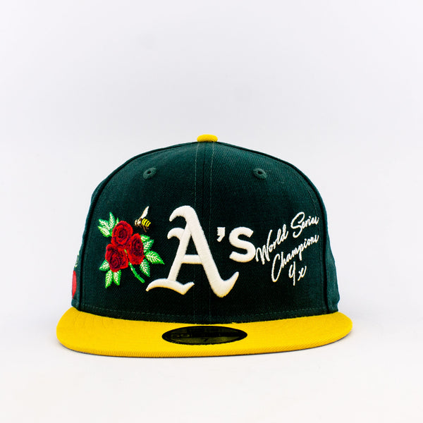 MLB Oakland Athletics 59Fifty World Champions Fitted Hat