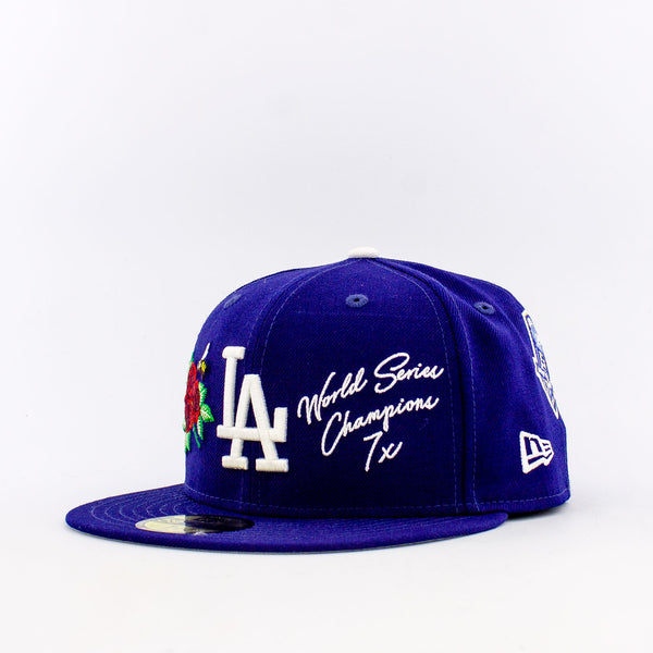 MLB Los Angeles Dodgers 59FIFTY World Champions Fitted Hat