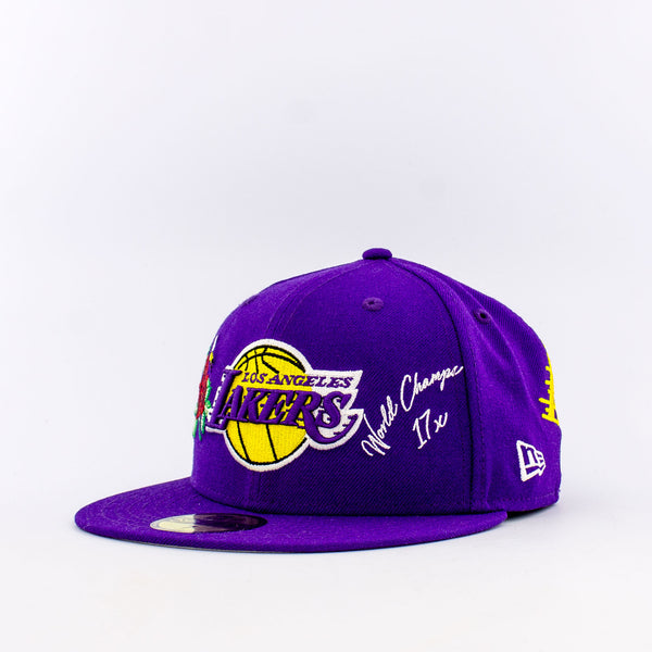 NBA Los Angeles Lakers 59Fifty World Champion Fitted Hat