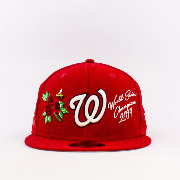 MLB Washington Nationals 59Fifty World Champions Fitted Hat