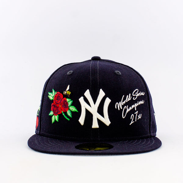 MLB New York Yankees 59Fifty World Champions Fitted Hat