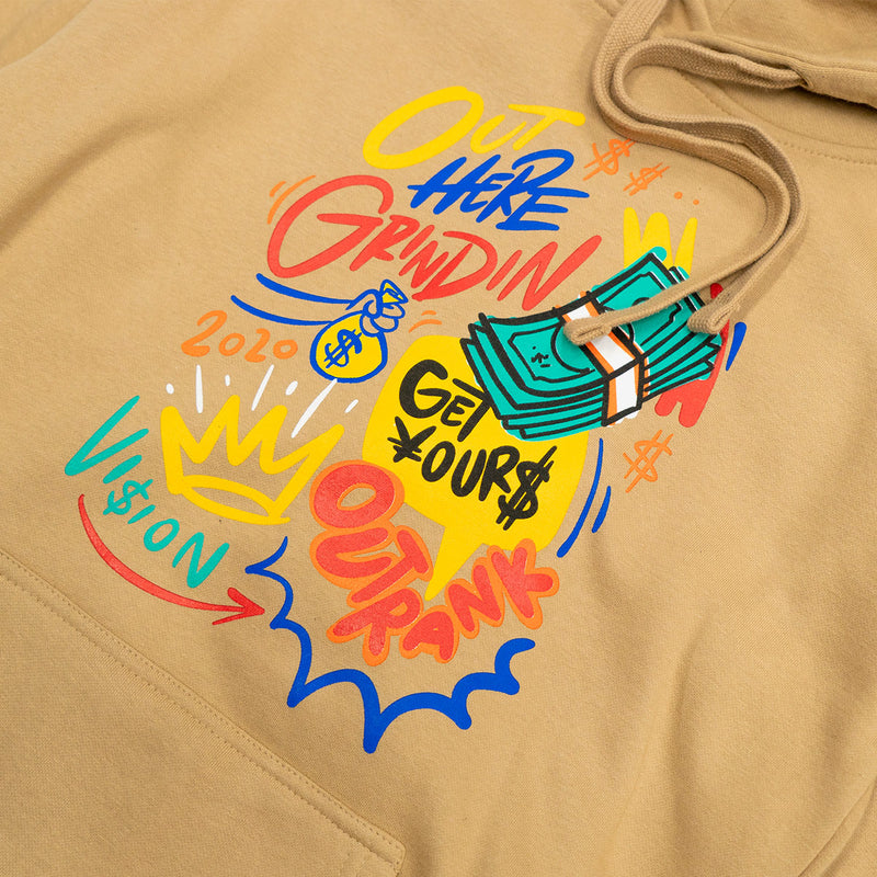Out Here Grinding Pullover Hoodie