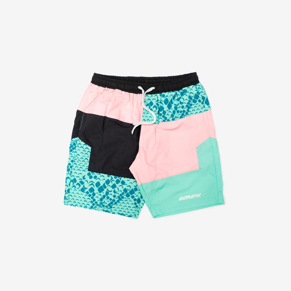 Snake Beach Nylon Shorts