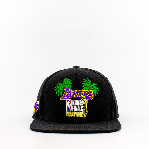 NBA Los Angeles Lakers 2020 Finals Champions Palm Snapback