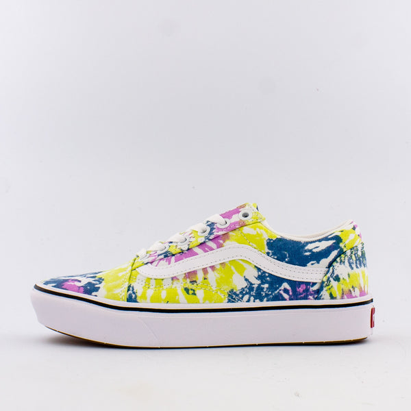Tie-Dye Comfycush Old Skool (W)