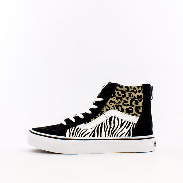 Animal Mix SK8-Hi Zip (Big Kids)