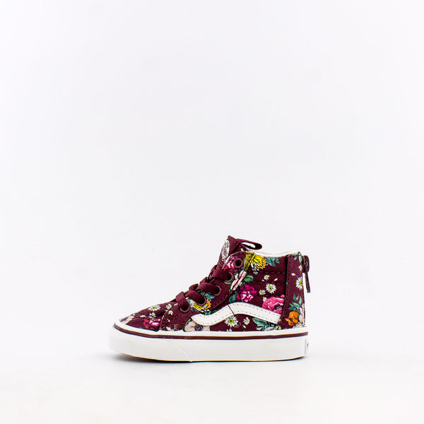 Butterfly Floral SK8-Hi Zip (Infant/Toddler)