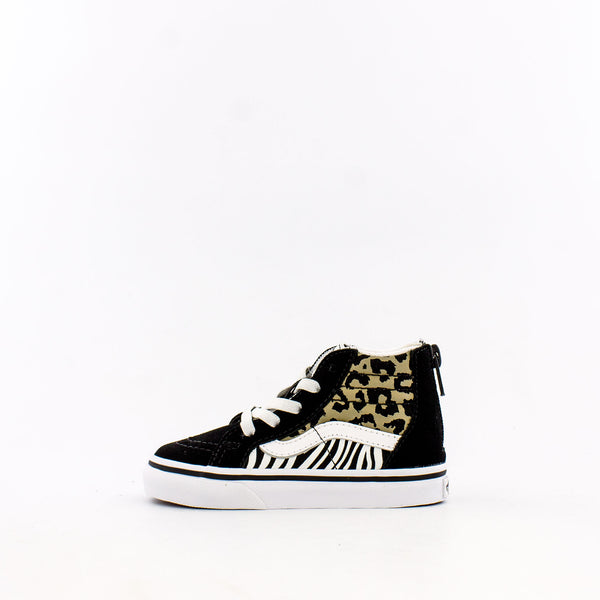 Animal Mix SK8-Hi Zip (Infant/Toddler)