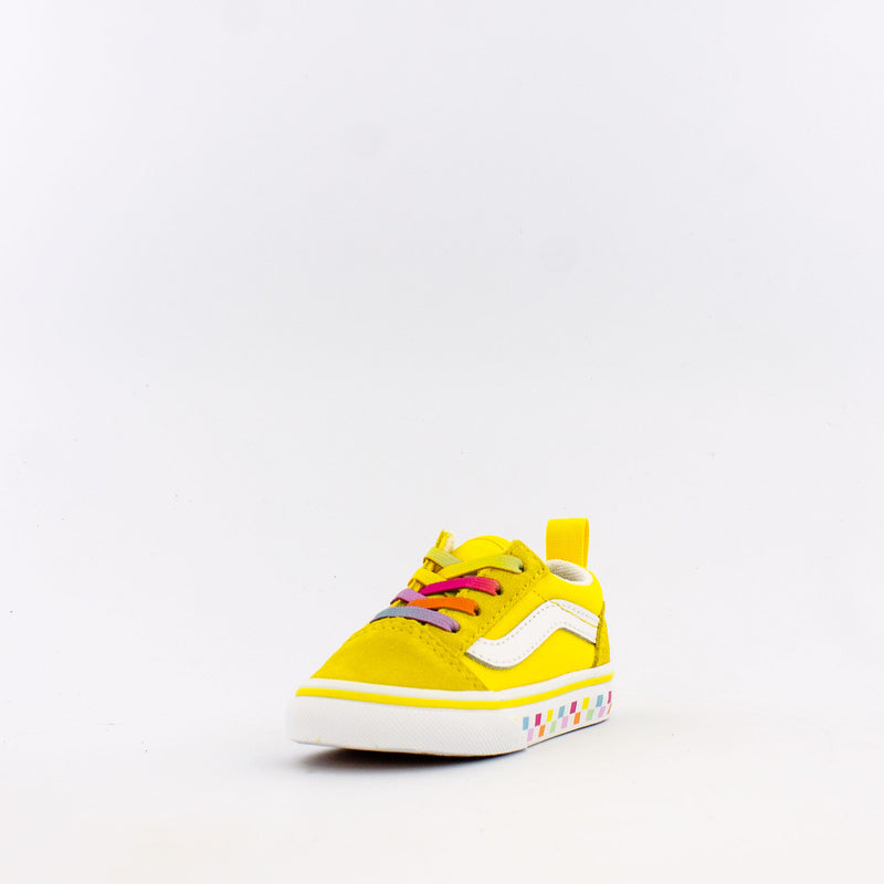 Rainbow Lace Old Skool Elastic Lace (Infant/Toddler)