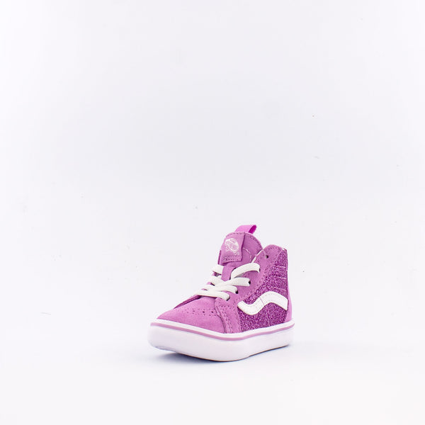 Glitter Comfycush SK8-Hi Zip (Infant/Toddler)