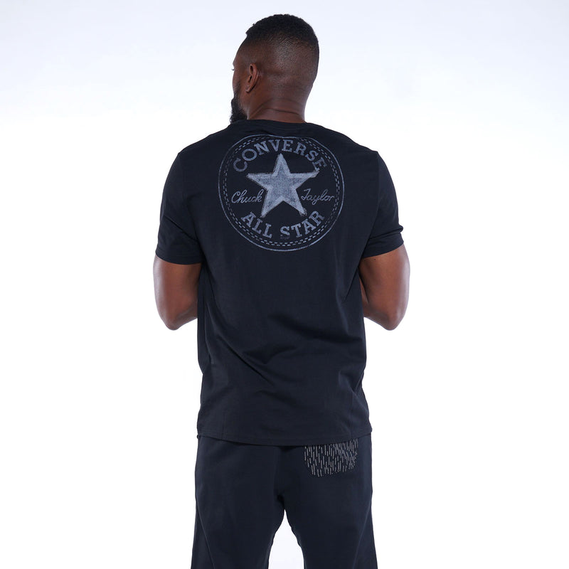 Converse Reflective Tape Star Chuck Taylor Patch Men's T-Shirt