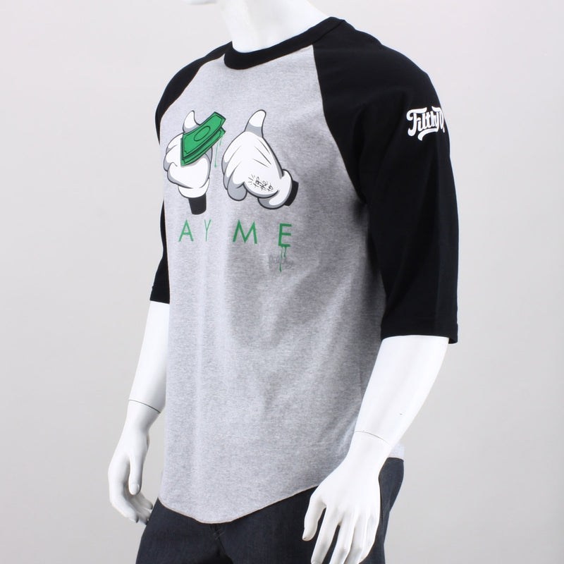 Filthy Dripped Pay Me Raglan Tee