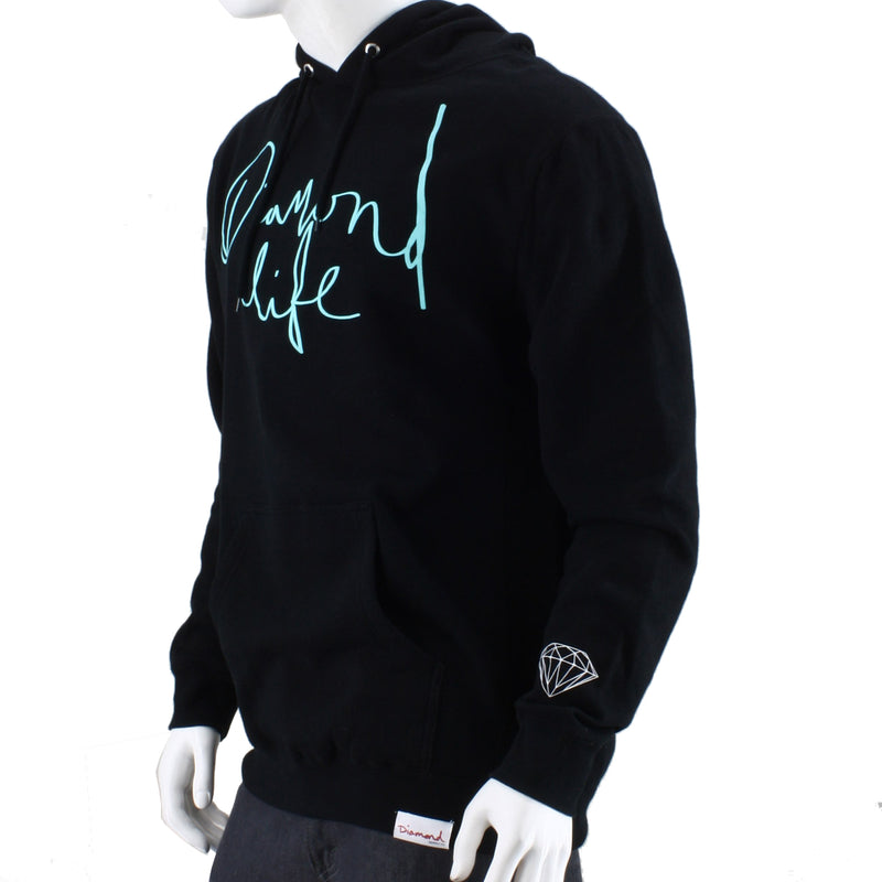 Diamond Supply Co. Diamond Life Script Hoodie