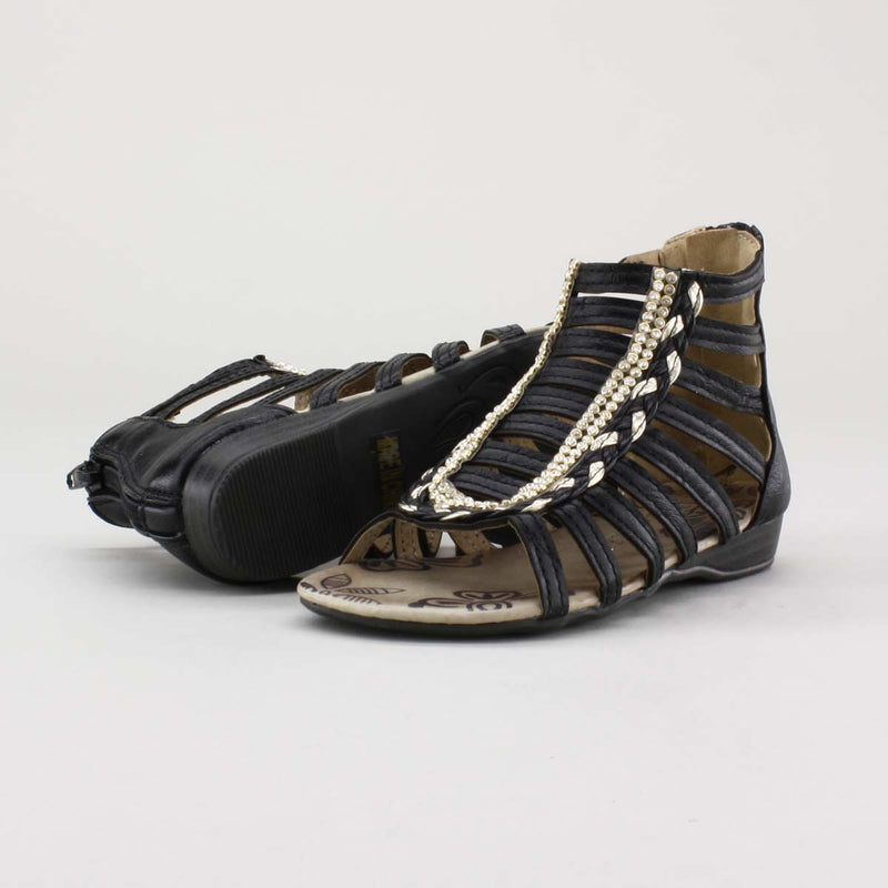 Eddie Marc Kids Sharon Gladiator Sandal