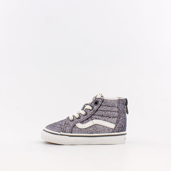SK8-Hi Zip Glitter (Infant/Toddler)