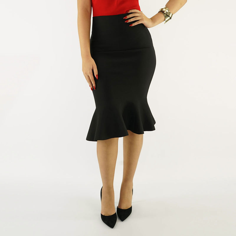 Miss YCMC Fit and Flare Skirt