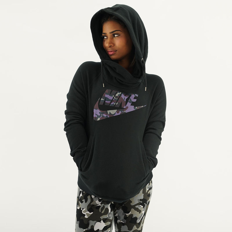 Nike Rally Funnel Neck Pullover Hoodie
